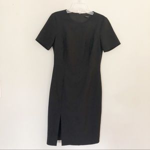 Theory Winstine | Black Sheath Dress